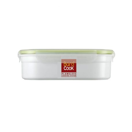BAROCOOK - BC-005 - 1000ml (Rectangle, thin flat) Flameless Cooking System with Sleeve
