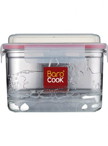 BAROCOOK - BC-007 - 1200ml (Rectangle) Flameless Cooking System with Sleeve