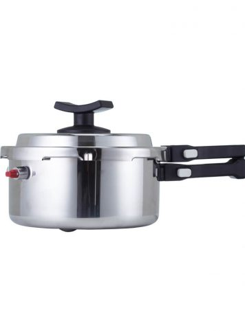 BAROCOOK - BC-009 - 1400ml (Pressure Pot - With Lid) Flameless PRESSURE Cooking System - assembled -side view