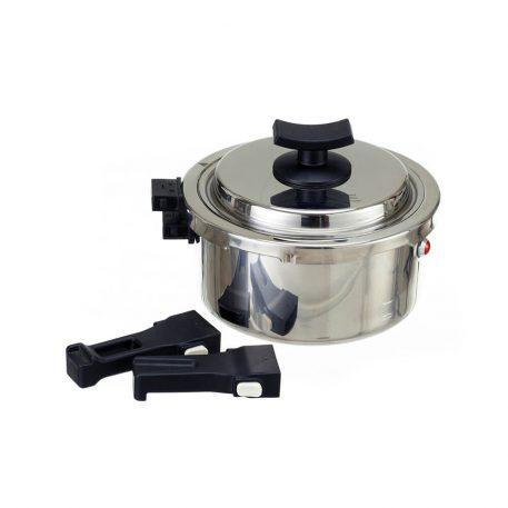 BAROCOOK - BC-009 - 1400ml (Pressure Pot - With Lid) Flameless PRESSURE Cooking System - handles removed