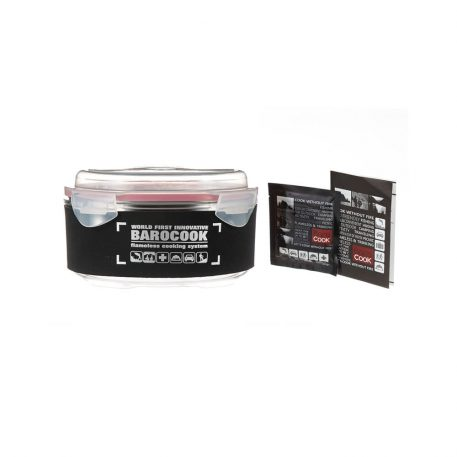BAROCOOK - BC-010 - 900ml (Round) Flameless Cooking System with Sleeve - all accessories