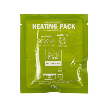 BAROCOOK - BP-010 SET - Baby Bottle Heating Pack Set (10g x10 Singles - in Zipperbag) Small Size