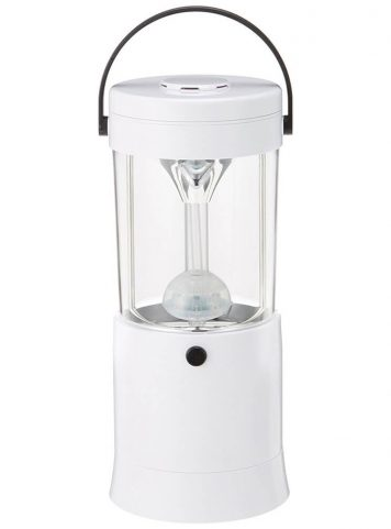 Maxell Mizusion Salt Water Lamp - Front View